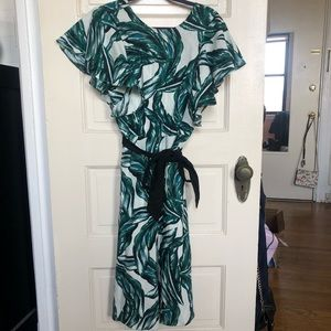 Tropical WHO WHAT WEAR Maxi Dress